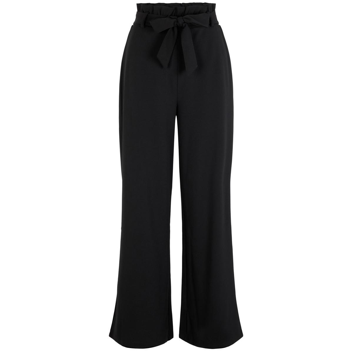 vmmilla hr loose paperbag pant noos 10218438 vero moda broek black