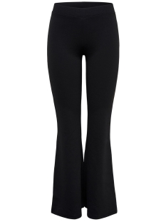 Only Broek ONLFEVER FLAIRED PANTS JRS 15167835 Black