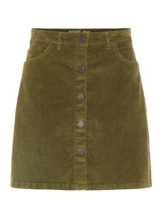 Noisy may Rok NMSUNNY SHORT CORDUROY SKIRT NOOS 27008506 Olivine