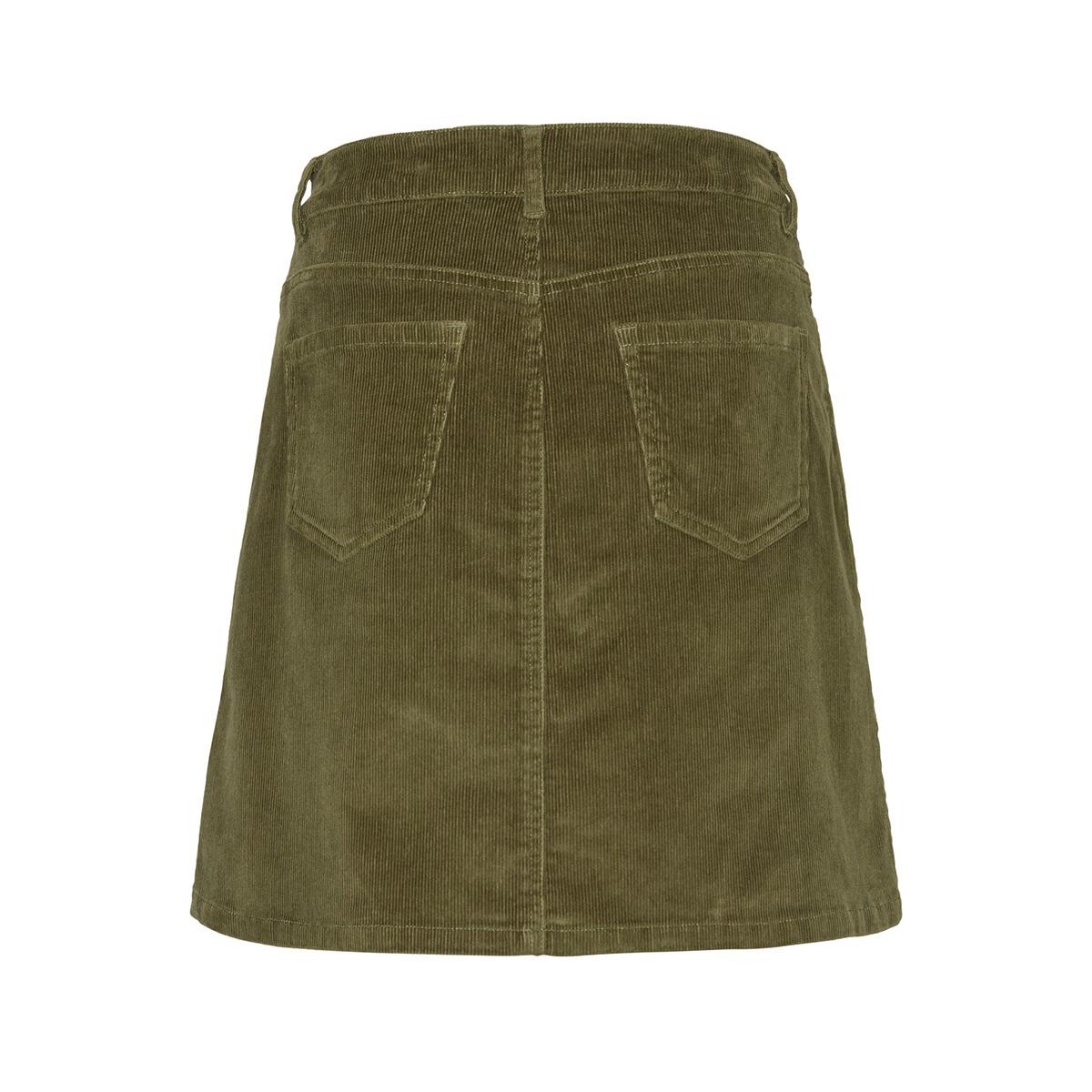 nmsunny short corduroy skirt noos 27008506 noisy may rok olivine