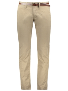 Tom Tailor Broek TRAVIS REGULAR CHINO MET RIEM 1007867 XX10 11018