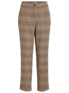 Vila Broek VIGESA RWRE 7/8 PANTS 14055296 Tigers Eye/BROWN/BLACK