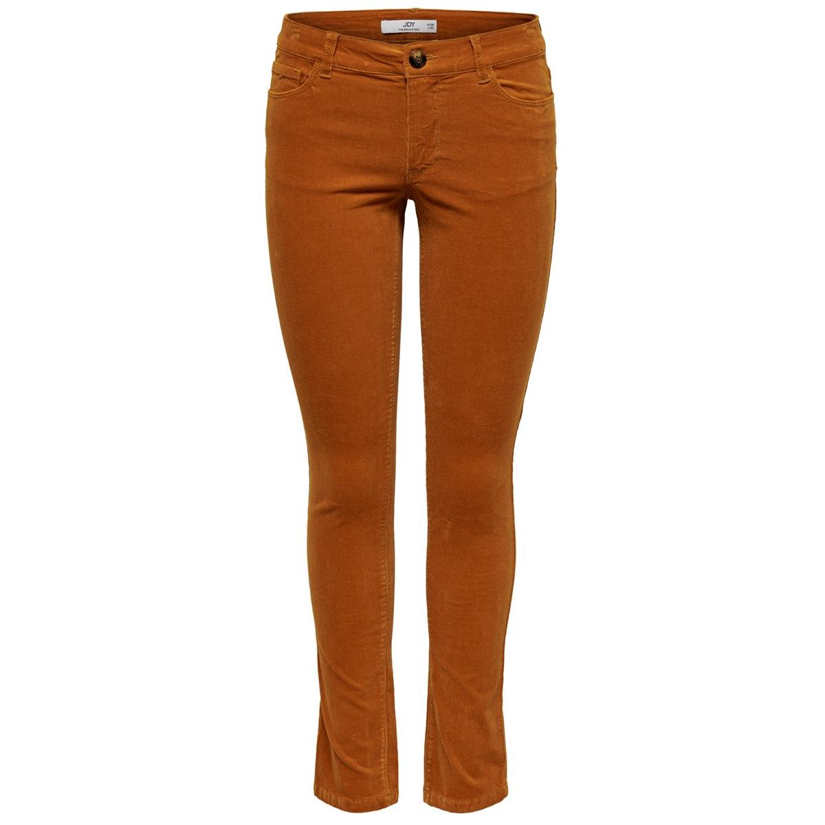 jdyera straight skinny rw cord pnt 15184856 jacqueline de yong broek pumpkin spice