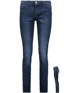 EDC Jeans STRETCHJEANS MET RACING STRIPES 099CC1B033 C901