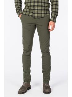 slim fit chino ctr195107 cast iron broek 6153
