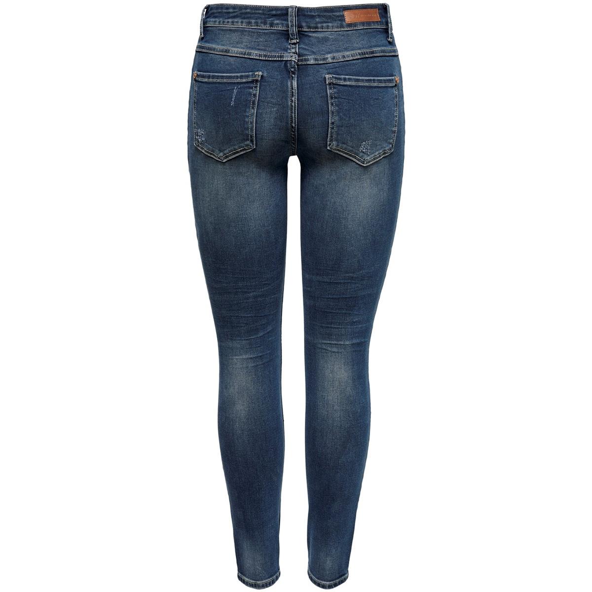 jdycarola life rg skn supstr mb dnm 15182653 jacqueline de yong jeans medium blue denim
