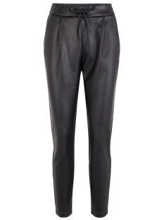 vmeva mr loose string coated pant 10205737 vero moda broek black