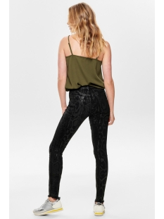 onlblush mid an raw snadnm jeans re 15184712 only jeans black