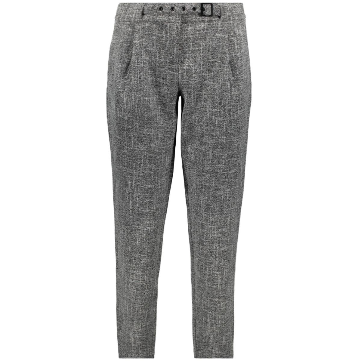viboliva rw 7/8  pants 14053703 vila broek medium grey melange