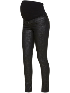 Mama-Licious Positie broek MLBOA COATED JEANS A. 20010170 Black Denim