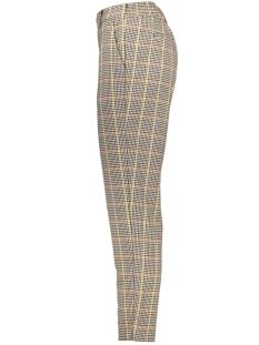 objlisa slim pant seasonal 23030466 object broek brown patina/checks