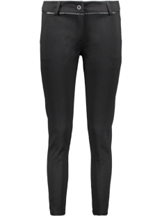 Goût d'Anvers Broek CLASSIC PANTS SOLID GDA12 0502 BLACK
