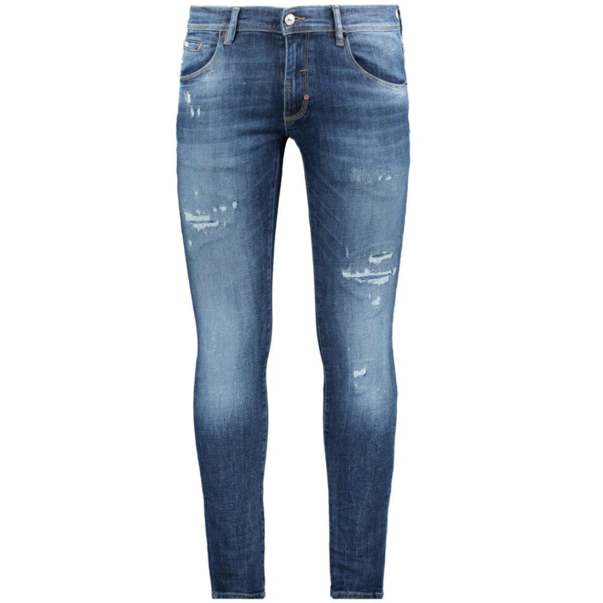 jeans super skinny mmdt00235 antony morato jeans blue denim