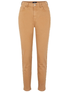 Pieces Jeans PCLEAH MOM HW ANK COLOUR JEANS-BA 17101783 Toasted Coconut