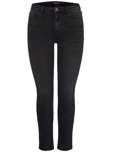 Pieces Jeans PCIRENE SLIM MW ANK JEANS BL628-VI 17099212 Black