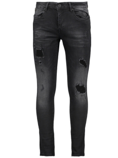 ultimo 82655 gabbiano jeans black destroyed