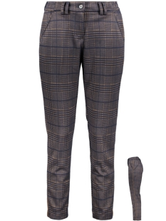 Smith & Soul Broek TROUSER 0919 0963 5784 BLUE/CAMEL