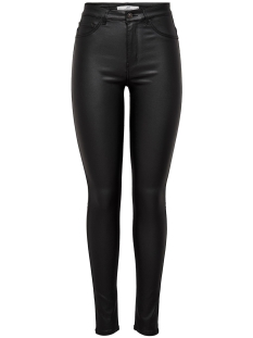 Jacqueline de Yong Broek JDYTHUNDER SKINNY HIGH COATED PNT N 15192576 Black