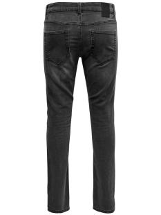 onsloom slim sw black  pk 4873 noos 22014873 only & sons jeans black denim