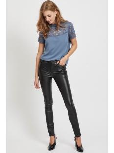 vicommit rwss multi glitter jeans/k 14054873 vila broek black
