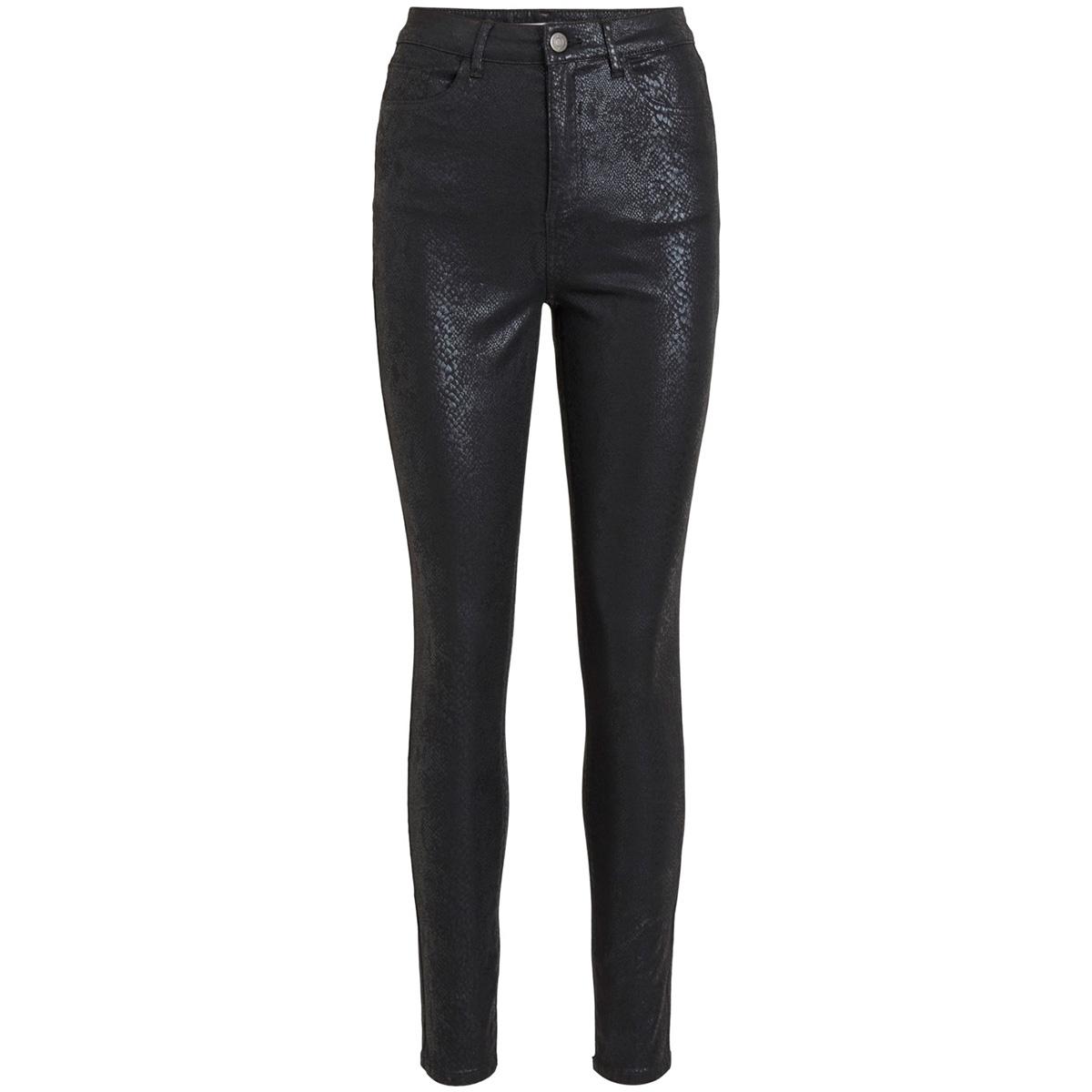 vislangsiasa hwss 5p  pants/ki 14054356 vila broek black aop