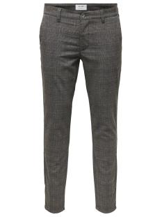 Only & Sons Broek onsMARK CHECK PANT GW 4198 22014198 Medium Grey Melange