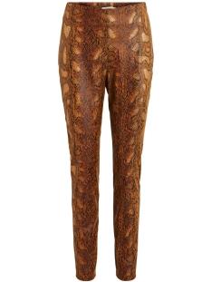 vipines snakey hwss leggings/l 14056393 vila legging toffee/snake