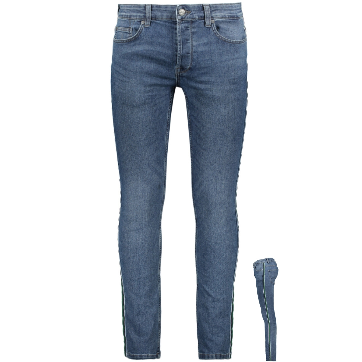 onsloom slim tape blue pk 5416 22015416 only & sons jeans blue denim
