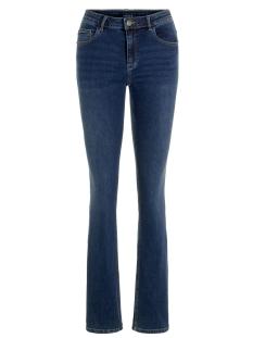 pczoe flared mw jns db322-vi 17099790 pieces jeans dark blue denim