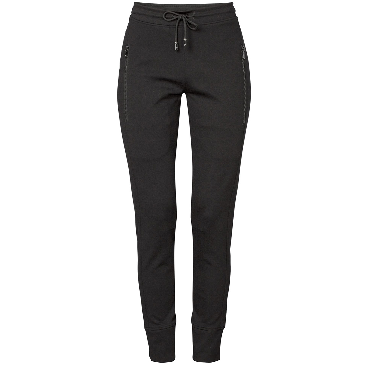 pants zip elastic waist 91815 geisha broek black