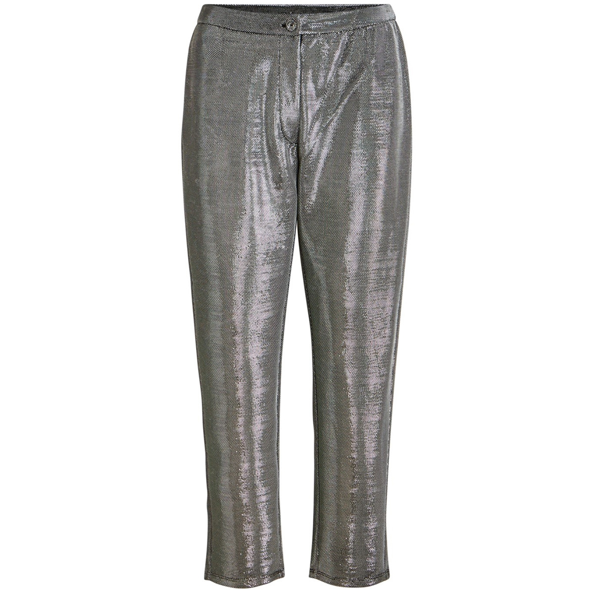 vifadora rwre 7/8 pant 14056633 vila broek silver