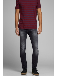 jjiglenn jjicon am 927 12163511 jack & jones jeans black denim