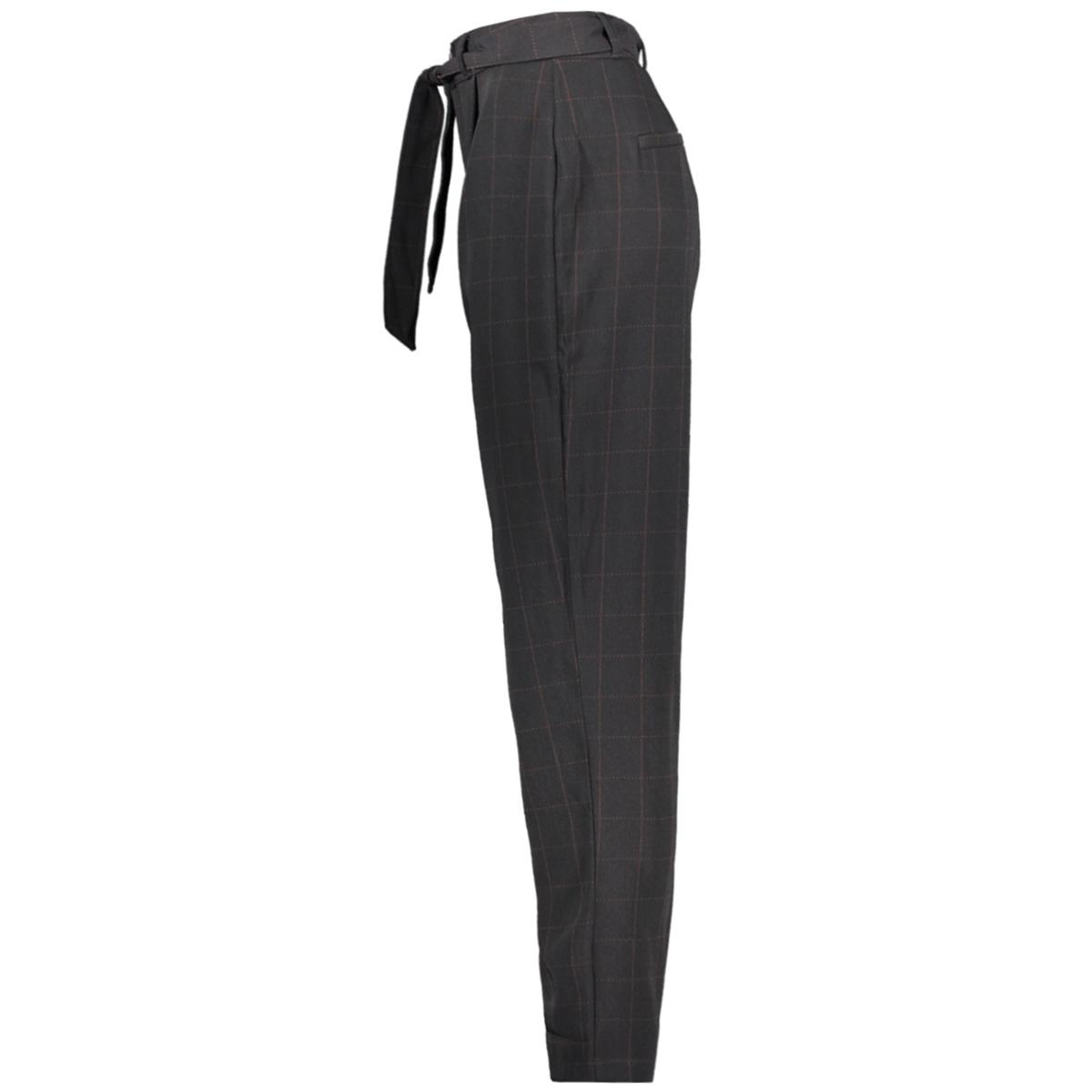 jdyoma belt pant wvn 15190125 jacqueline de yong broek black/arabian sp