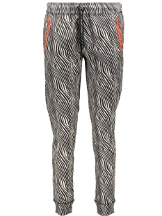 Smith & Soul Broek ZEBRA SWEAT PANTS 1019 1021 5724 ZEBRA