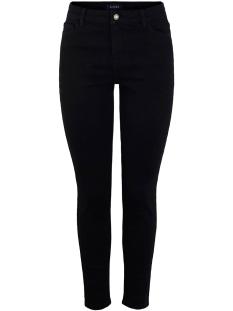 Pieces Jeans PCKAMELIA SKN MW ANKLE  BL641-VI/NO 17102094 Black Denim