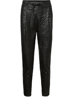 vmeva mr loose string zebra coating 10222823 vero moda broek black