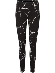 Noisy may Legging NMKERRY NW AOP MARBLE LEGGING 27012262 Black/BLACK&WHI