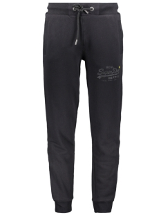 Superdry Broek TONAL TAPE JOGGER M7000052A BLACK