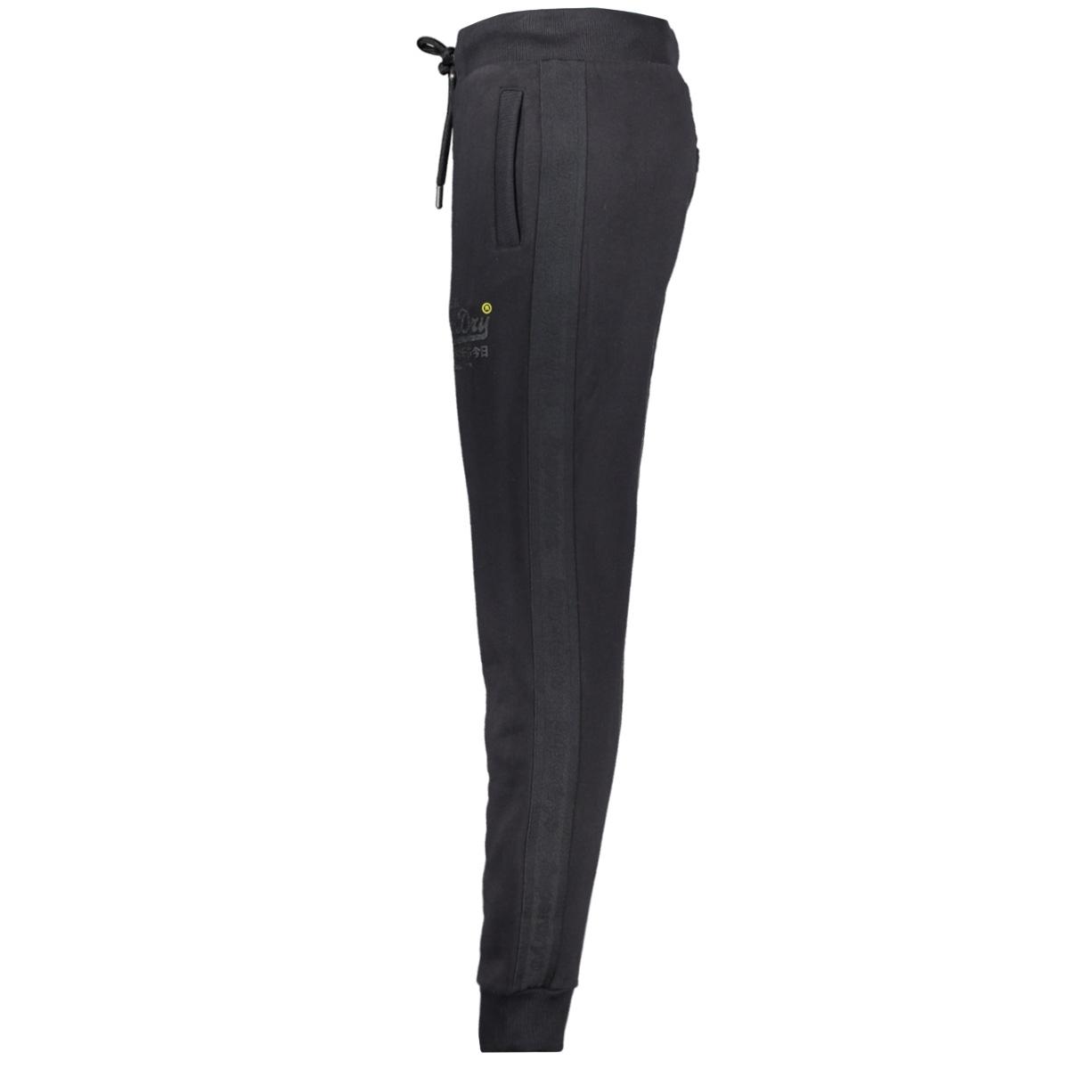 tonal tape jogger m7000052a superdry broek black