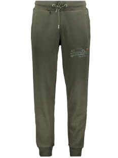 Superdry Broek TONAL TAPE JOGGER M7000052A SURPLUS GOODS OLIVE