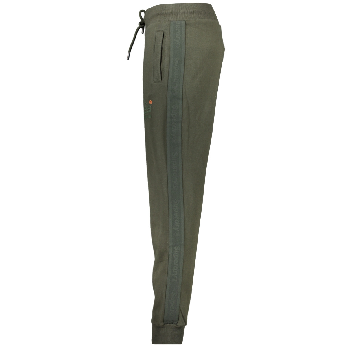 tonal tape jogger m7000052a superdry broek surplus goods olive