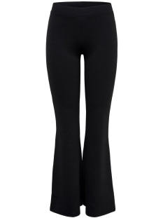 onlfever stretch flaired pants jrs 15213525 only broek black