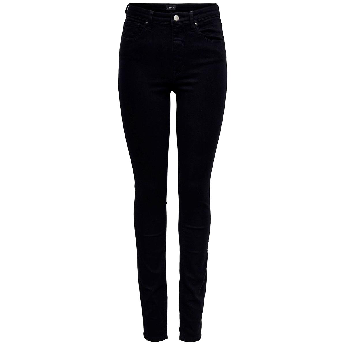 onlida life midwaist sk  bb rea922 15200938 only jeans black denim