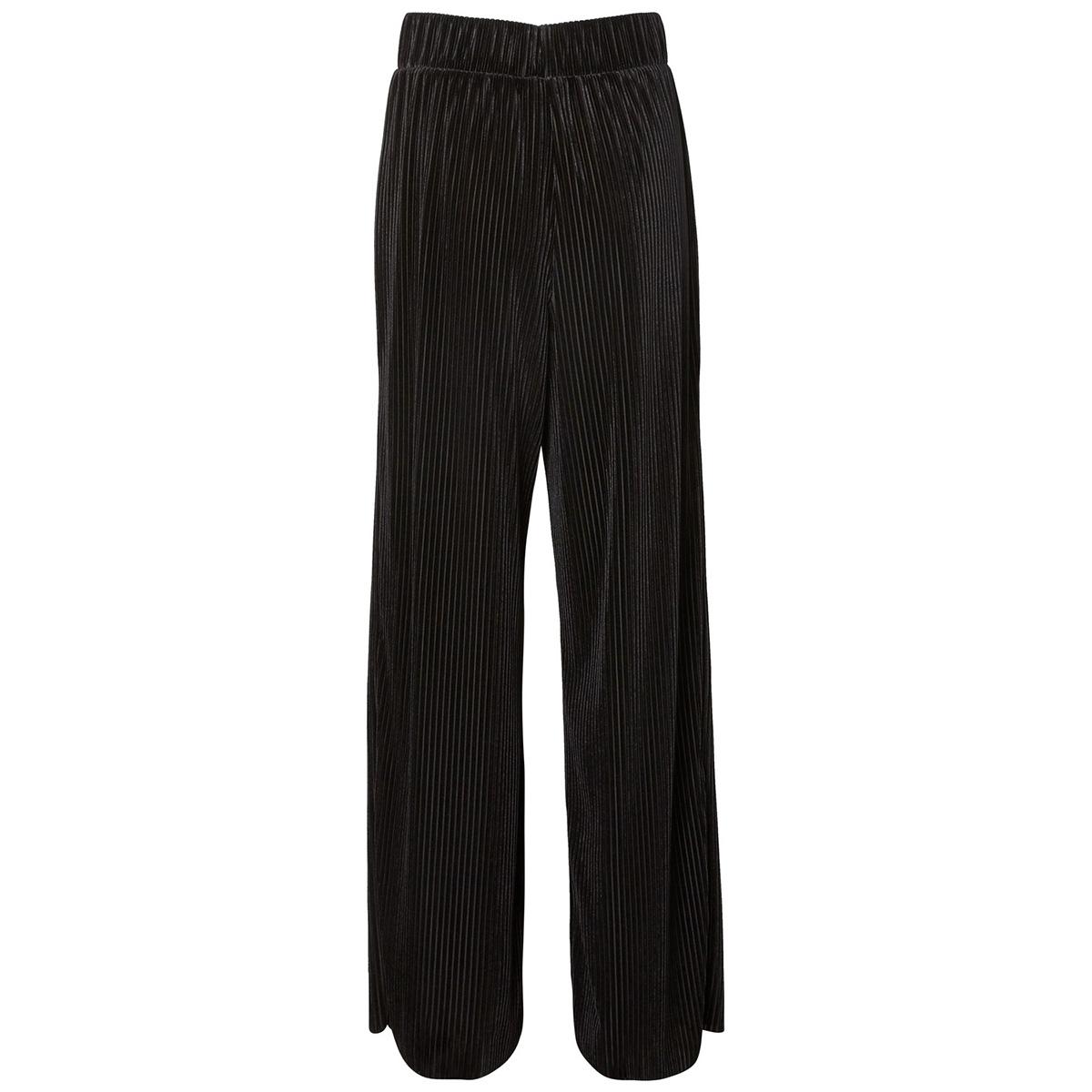 nmvelvet pleat hw pant ssx6 27004549 noisy may broek black