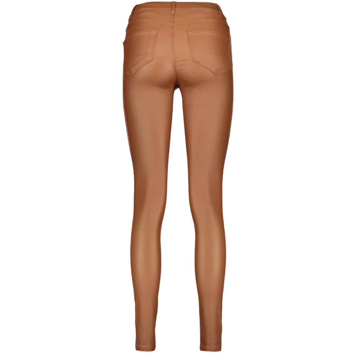 vicommit coated rwss new pant-noos 14036194 vila broek rawhide