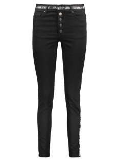 FUNKY JEANS WITH DETAILS 195 BLACK
