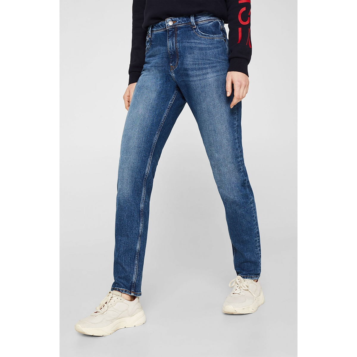 stretchjeans in girlfriend fit 010ee1b307 esprit jeans e902