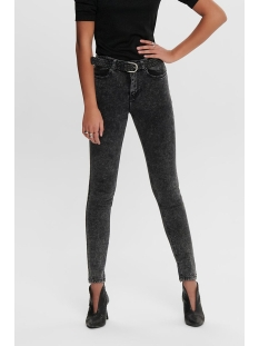 JDYTYGA HIGH SKINNY ACID DARK GREY 15196922 Dark Grey Denim