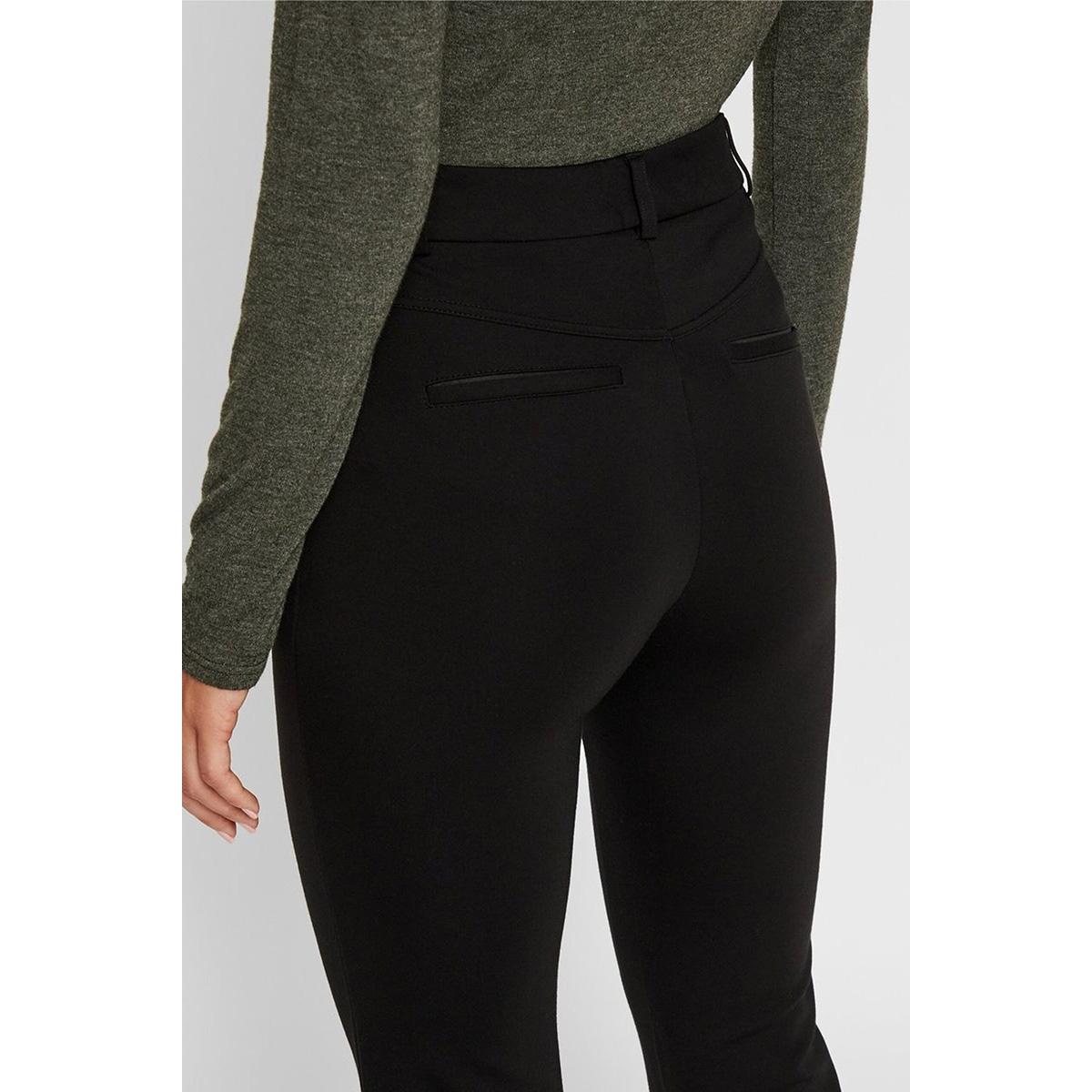 pcklara hw flared leggings bf 17103421 pieces broek black