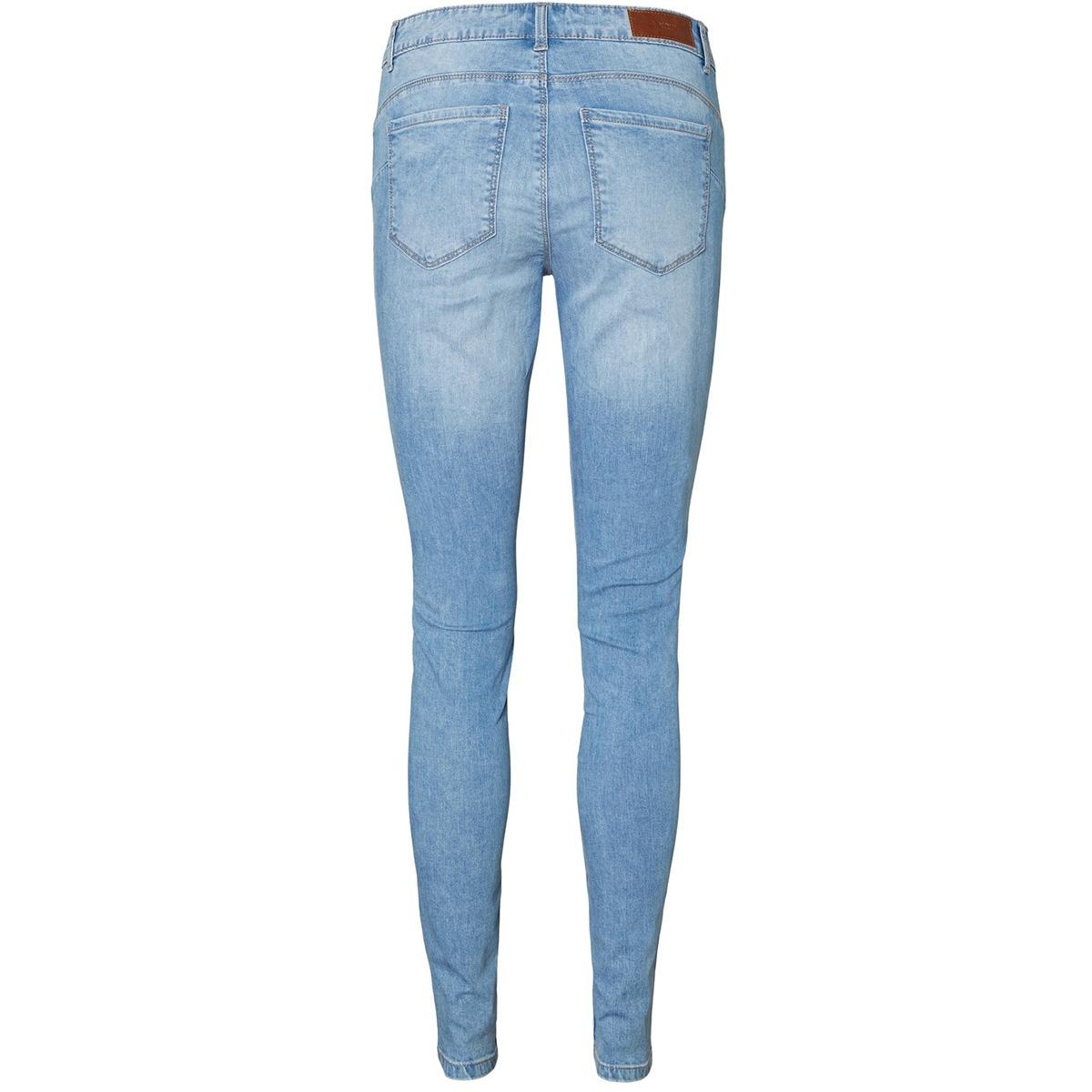 vmseven mr s shape up dstr vi353 no 10225492 vero moda jeans light blue denim